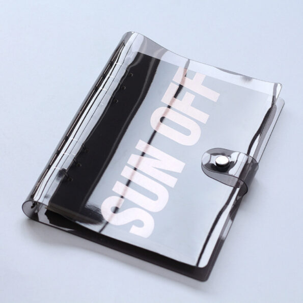 Black Clear Planner Cover.009