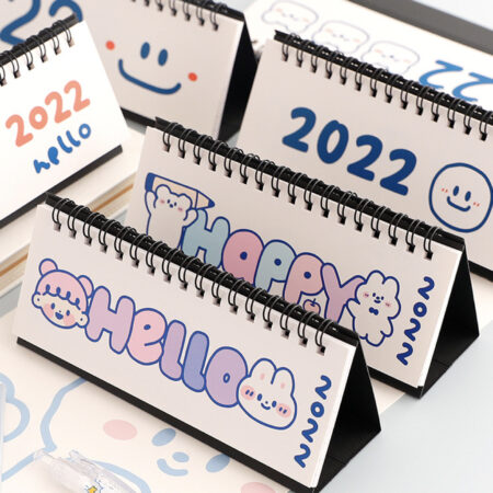 2022 Hello Desk Calendar