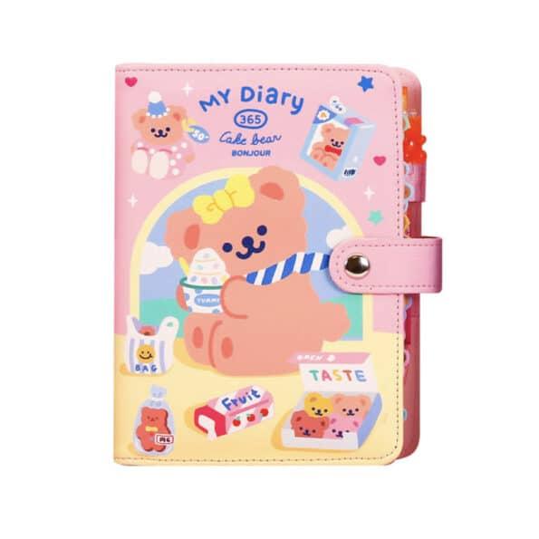 My Diary 365 Cake Bear Planner Set.011